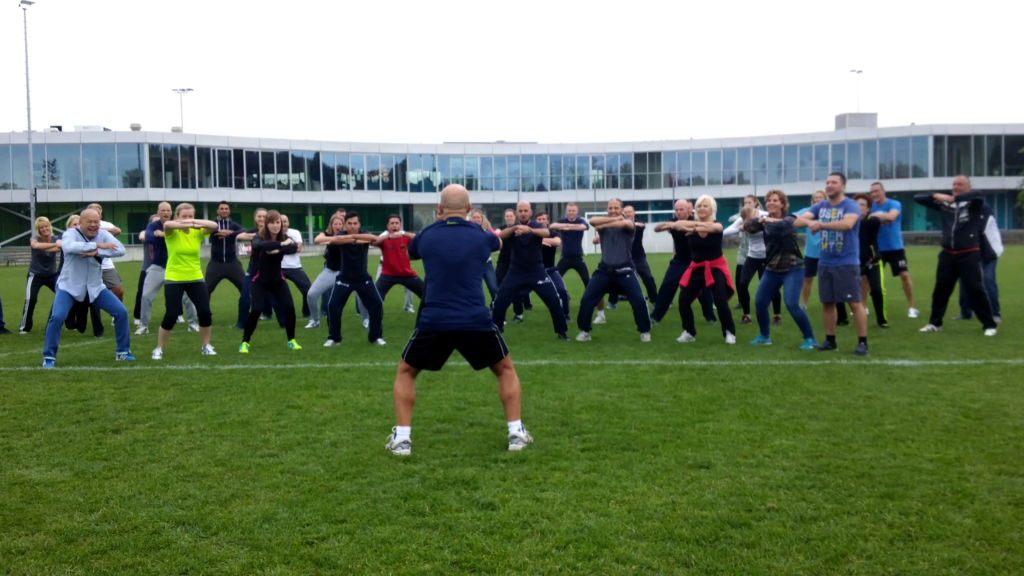 Cornona-proof Haka workshop